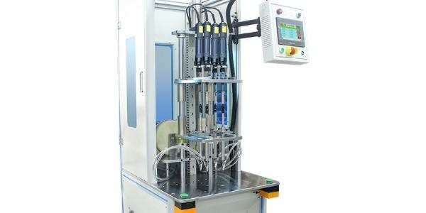 吹气式自动锁螺丝机