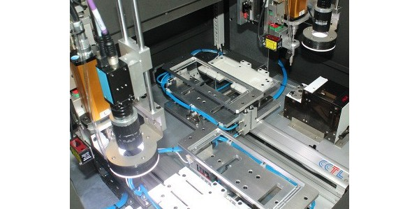 M6大螺丝CCD视觉锁螺丝机介绍-坚丰股份