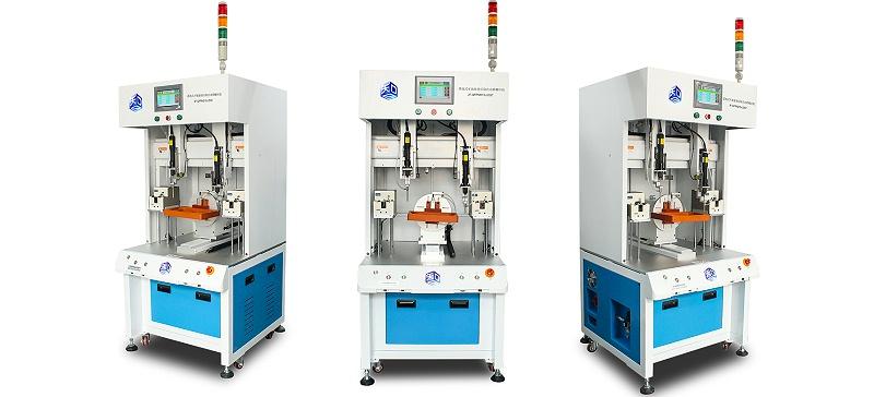 JF-QFPM215-LDST双头单模旋转治具自动锁螺丝机4