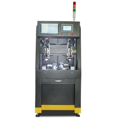 CCD八轴双工位落地式自动锁螺丝机