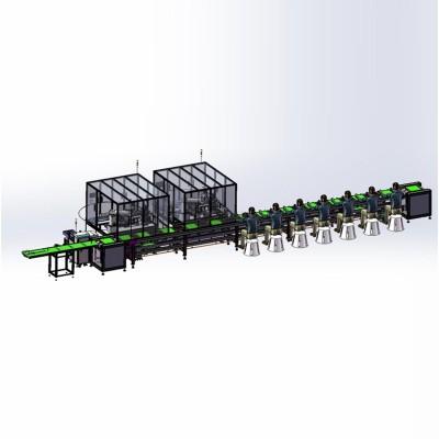 PCB零件自动化组装机及锁螺丝机