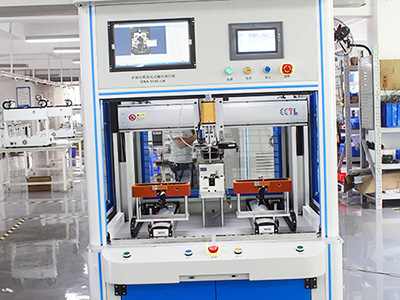 东莞市博泰电子有限公司—CCD视觉自动锁螺丝机工程案例
