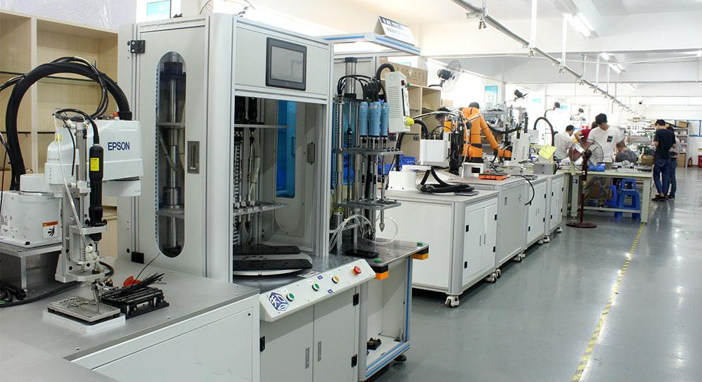 规模化生产,自动化生产线