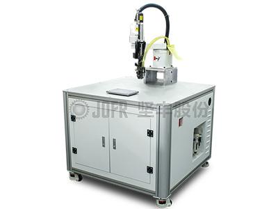 深圳市XXX光电有限公司—锁付机器人实现盘类零件上下料工程案例